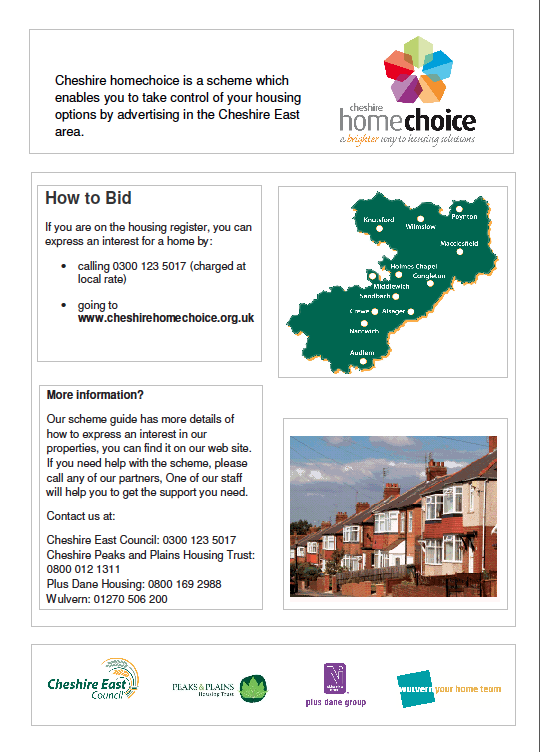 Cheshire Home Choice